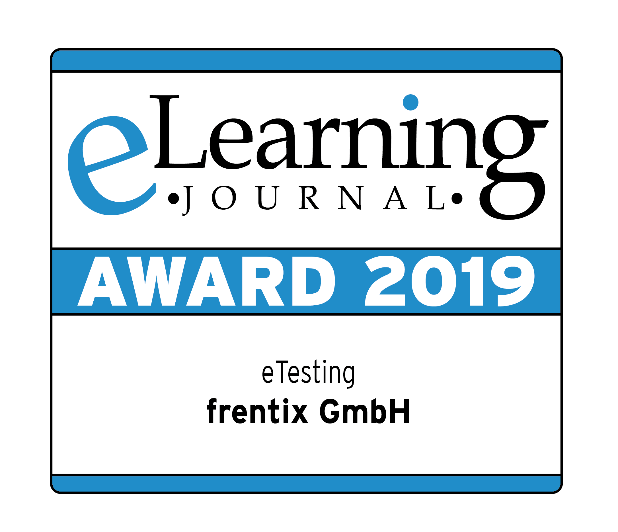 The OpenOlat LMS wins the e-learning award in the category e-testing